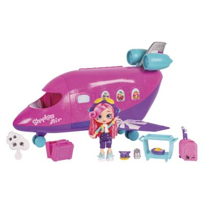 Shopkins Shoppies Skyanna'S Jet Playset With Doll