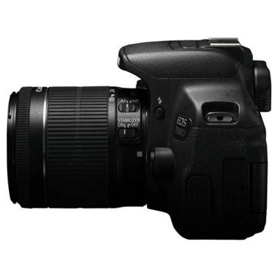 Buy Canon Eos 700d Lens Black From Our Dslr Cameras Range Tesco
