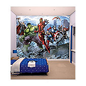 Walltastic Marvel Avengers Assemble Wall Mural 8 ft x 10 ft
