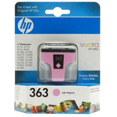 HP 363 Light Magenta Ink Cartridge (5.5ml)