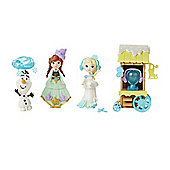 Disney Frozen Little Kingdom Ice Skating Scene Playset