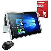 """HP x2 10-p005na 10.1"""" 2 in 1 Tablet 4GB 500GB+64GB eMMC Detachable keyboard Win 10 with Internet Security & Mouse - Y3V57EA#ABU"""