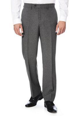 F&F Regular Fit Suit Trousers 34 Waist 29 Leg Grey