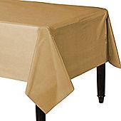 Gold Plastic Tablecover - 1.4cm x 2.8cm