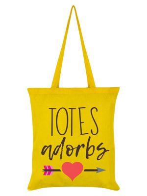 Totes Adorbs Yellow Tote Bag 38x42cm