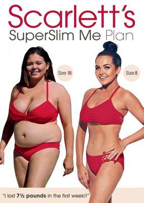 Scarlett's Superslim Me Plan DVD