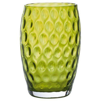 Tesco Highball Vase Green 18cm