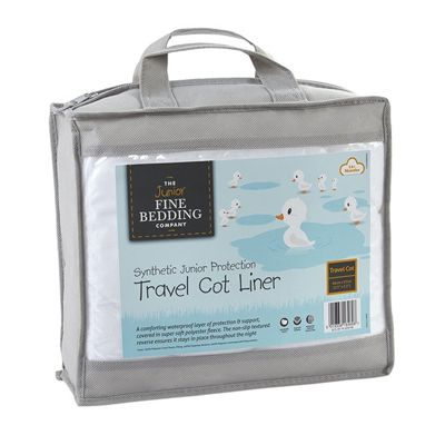 Junior Fine Bedding Company Travel Cot Liner