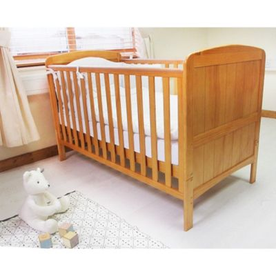 Babylo Sienna Cot Bed (Natural)