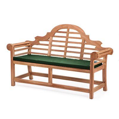 Gardenista Replacement Seat Pad for Lutyens Garden Bench - Green