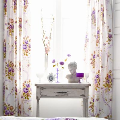 V&A Vintage Bouquet 66cm x 72cm Curtains