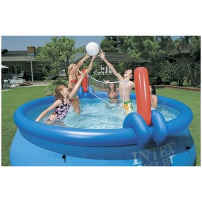 Intex Volleyball and Basketball Set for Easy Pool