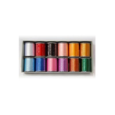 Brother Embroidery Thread 12 Colours Set ETS12