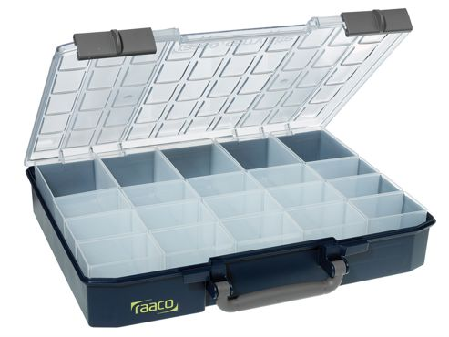 Raaco CarryLite Organiser Case 80 5x10-20 20 Inserts
