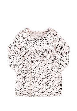 F&F Spot Print Dress - Pink