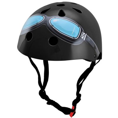 Kiddimoto Helmet - Black Goggles - Medium