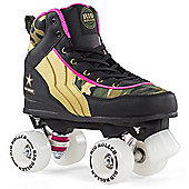 Rio Roller Camo Ltd Edition Quad Roller Skates - Green