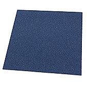 Westco 51cm x 51cm Carpet Tile, Blue