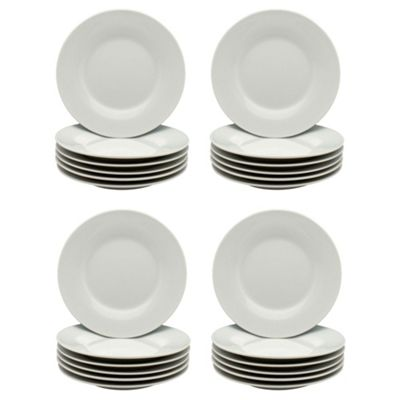 Wide Rimmed Side / Dessert / Bread Plates - 154mm (6