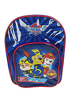 Paw Patrol 'Top Pups' Arch Pocket School Bag Rucksack Backpack