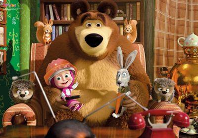 Masha and the Bear No.1 Puzzle