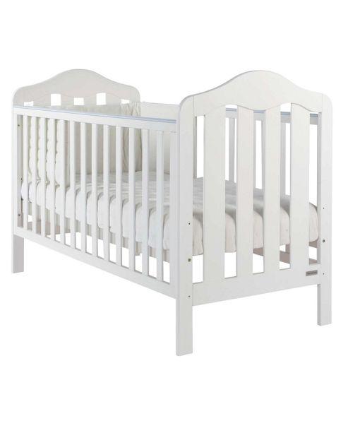 Mamas & Papas - Lucia Cot/Junior Bed - White
