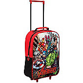Marvel Avengers Red Wheeled Trolley Bag