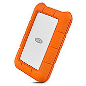 LaCie Rugged USB-C USB Type-C 3.0 (3.1 Gen 1) 1000GB Orange Silver external hard