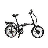 "Viking Harrier 20"" Wheel Folding Electric Bike Black"