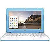 HP Chromebook 11-2200na (Cel N2840 2GB, 16GB Chrome OS) Blue