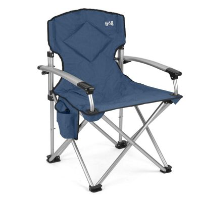 Trail Ultimate Padded Folding Chair - Blue