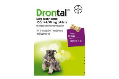 Drontal Tasty Bone - 6 Tablets