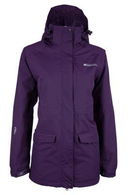 Mountain Warehouse Glacier Extreme Womens Waterproof Hooded Rain Shower Proof