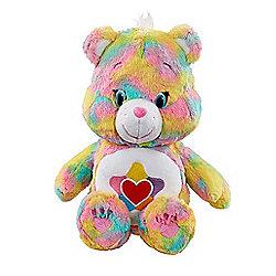 Care Bears Medium Soft Toy with DVD - True Heart