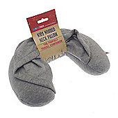Globetrek Kid's Hooded Travel Neck Pillow, Grey