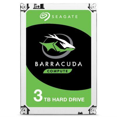 3TB Seagate BarraCuda Desktop Hard Drive 3.5 SATA III 6GBs 7200RPM 64MB Cache