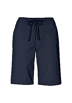 Jack Wolfskin Ladies Pomona Shorts - Navy