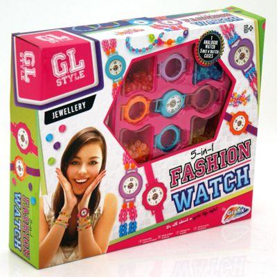GL Style Fashion Watches Jewellery Set