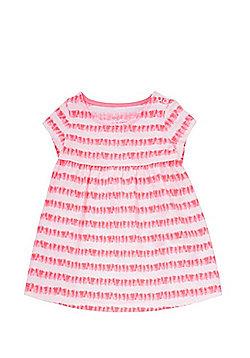 F&F Neon Striped Smock Dress - Multi