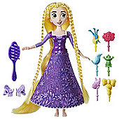 Disney Tangled Spin N Style Action Hair Figure