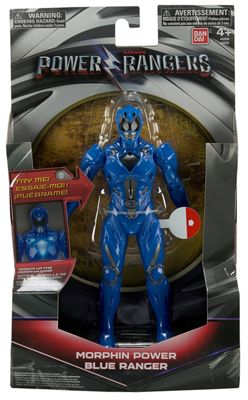Power Rangers Movie Morphin Power Blue Ranger 17.5CM