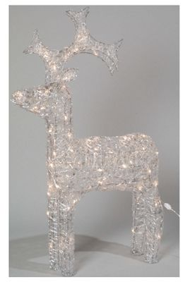 LED Outdoor Reindeer - Warm White - 120CM