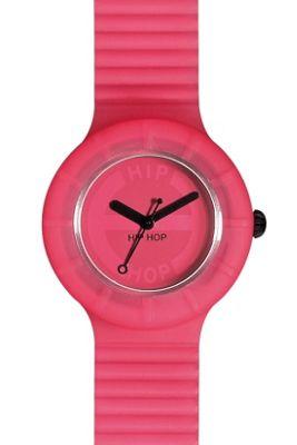 Hip Hop Unisex Full Colour Pink Glam Strap Watch HWU0060