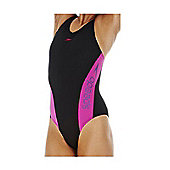 Speedo Aqua Charge Swimsuit - Black