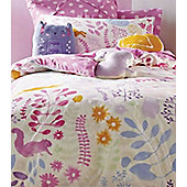 Friends Of The Forest Single Bedding - Hiccups, 100% Cotton