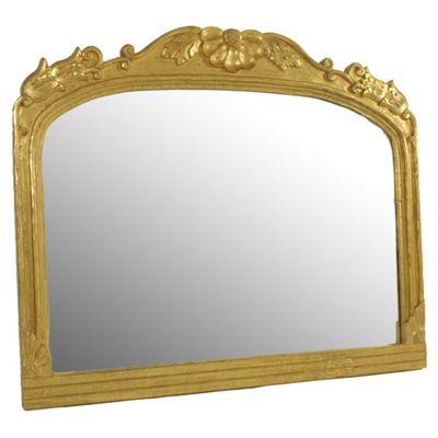 Papa Theo Prague Mirror - Antique Gold