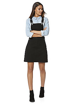 F&F Denim Pinafore - Black