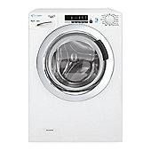 Candy Washing Machine, GVS149DC3, 9kg load with 1400 rpm - White with Chrome Door