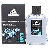 Adidas Ice Dive Eau de Toilette (EDT) 100ml Spray For Men