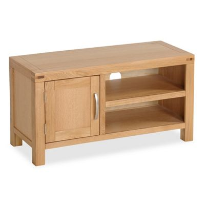 Abbey Light Oak TV Stand - 90cm TV Stand